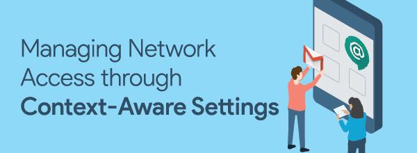 context aware settings header